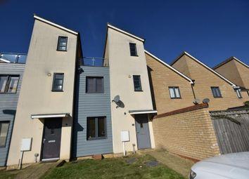 Thumbnail 2 bedroom terraced house for sale in Selkirk Drive, Oakridge Park, Milton Keynes