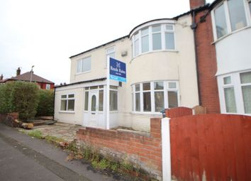 Thumbnail 4 bed semi-detached house to rent in Harrop Street, Abbey Hey, Manchester