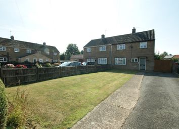 Thumbnail 3 bed semi-detached house for sale in Johnson Road, Uppingham, Oakham