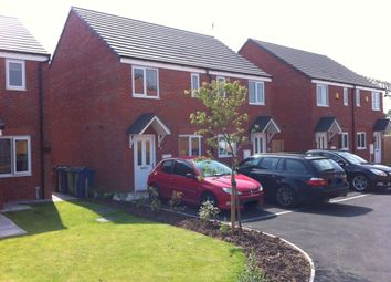 Thumbnail 2 bedroom semi-detached house to rent in Fieldhouse Way, The Crossing, Stafford