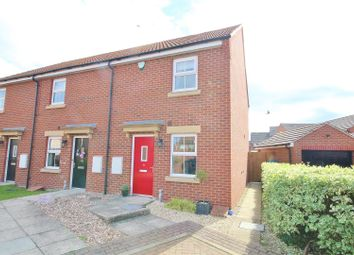 Thumbnail 2 bed end terrace house for sale in St. Marys Court, Hambleton, Selby