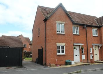 Thumbnail 3 bed semi-detached house for sale in The Brambles, St Georges, Weston-Super-Mare, Somerset