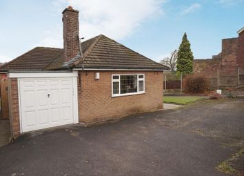 Thumbnail 2 bed detached bungalow for sale in Sandon Road, Meir Heath, Stoke-On-Trent, Staffordshire