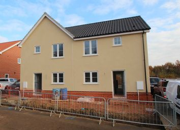 Thumbnail 2 bed semi-detached house for sale in Springfield, Acle, Norwich