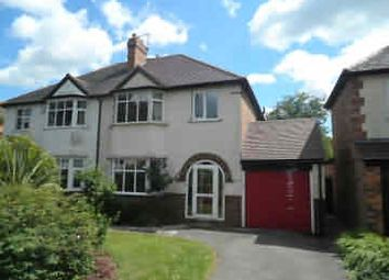 Thumbnail 3 bed semi-detached house to rent in Walmley Road, Sutton Coldfield