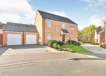 Thumbnail 4 bed detached house for sale in Willow Close, Brundall, Norwich