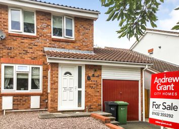 Thumbnail 3 bed semi-detached house for sale in Kempton Avenue, Hereford