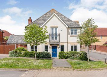 Thumbnail 4 bed detached house for sale in Vernier Crescent, Medbourne, Milton Keynes