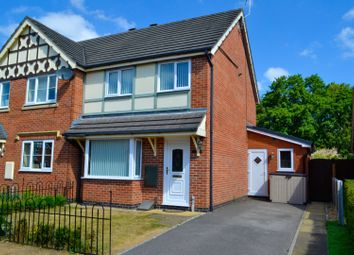 Thumbnail 3 bed semi-detached house for sale in Flowerscroft, Nantwich