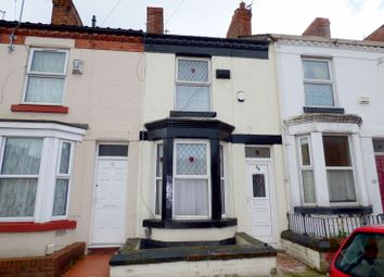 Thumbnail 2 bed terraced house to rent in Crofton Road, Birkenhead
