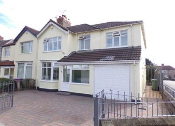 Thumbnail 4 bed semi-detached house for sale in Linkstor Road, Woolton, Liverpool, Merseyside