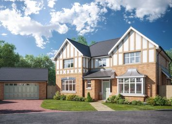 Thumbnail 4 bed detached house for sale in Houghtons Lane, Eccleston, St Helens