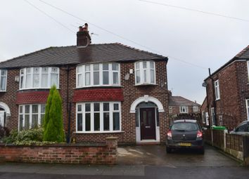 Thumbnail 4 bedroom property to rent in Harcombe Road, Withington, Manchester