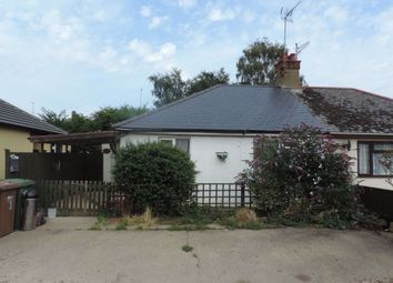 Thumbnail 2 bedroom bungalow to rent in York Gardens, Wisbech