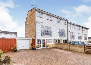 Thumbnail 3 bed end terrace house for sale in Milestone Road, Dartford, Kent