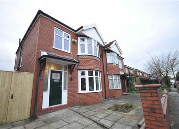 Thumbnail 3 bed semi-detached house to rent in Grosvenor Road, Heaton Moor, Stockport