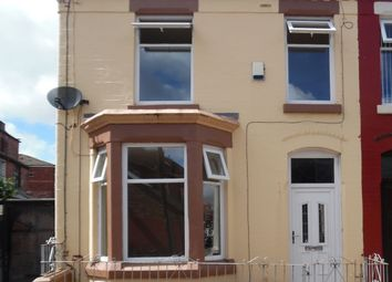 Thumbnail 3 bed terraced house to rent in Hornsey Road, Anfield, Liverpool