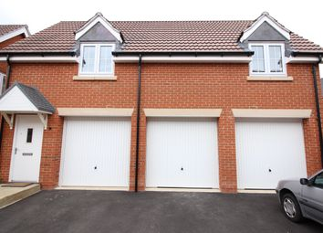 Thumbnail 2 bed flat to rent in Burrows Close, Grantham