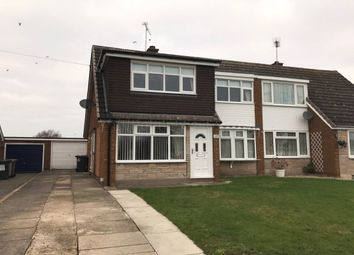 Thumbnail 3 bed semi-detached house for sale in Sandylands Park, Wistaston, Crewe