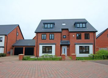 Thumbnail 6 bed detached house for sale in Humbleton Road, Newcastle Upon Tyne