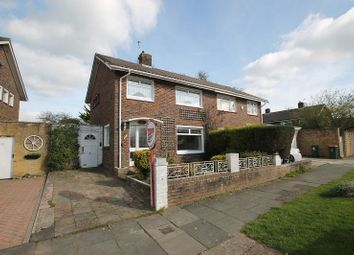 Thumbnail 3 bed semi-detached house for sale in Highams Hill, Crawley, West Sussex.