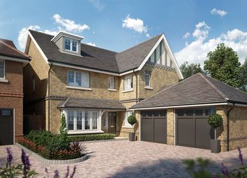 Thumbnail 5 bedroom detached house for sale in Tuffnells Way, Harpenden