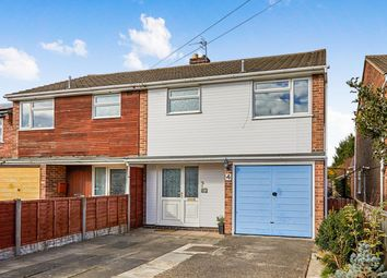 Thumbnail 3 bed semi-detached house for sale in Beards Road, Newhall, Swadlincote