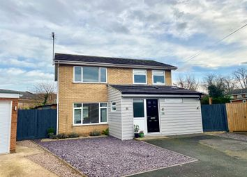 Thumbnail 4 bed detached house for sale in Malvern Close, Spalding