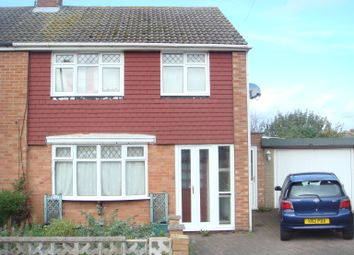 Thumbnail 3 bed semi-detached house to rent in Ashcroft Close, Northampton