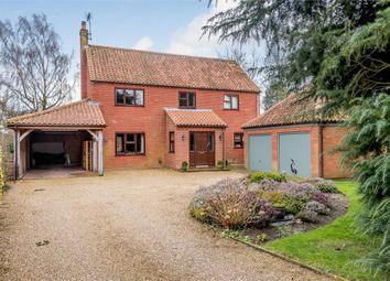 Thumbnail 4 bed detached house for sale in Fakenham Road, East Rudham, King's Lynn, Norfolk