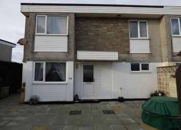 Thumbnail 3 bed end terrace house for sale in Lon Ceredigion, Pwllheli, Gwynedd