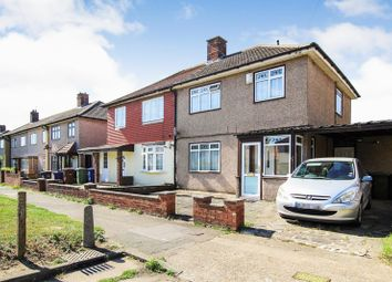 Thumbnail 3 bed semi-detached house for sale in Eskley Gardens, South Ockendon