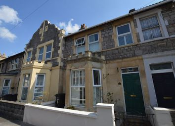 Thumbnail 3 bed terraced house for sale in Glebe Road, Weston-Super-Mare