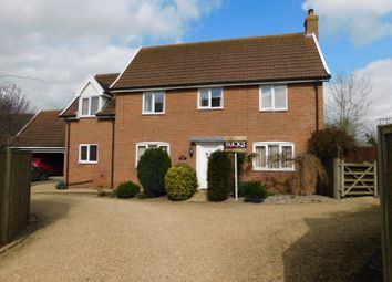 Thumbnail 4 bed detached house for sale in Mendlesham Green, Stowmarket