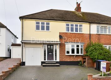 Thumbnail 4 bed semi-detached house for sale in The Gardens, Brookmans Park, Herts