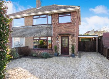 Thumbnail 3 bedroom semi-detached house for sale in Foxburrow Road, Sprowston, Norwich