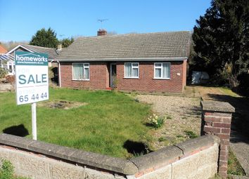 Thumbnail 3 bedroom detached bungalow for sale in Stone Road, Toftwood