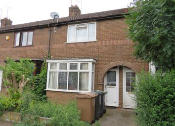Thumbnail 2 bed terraced house for sale in Connaught Road, Luton