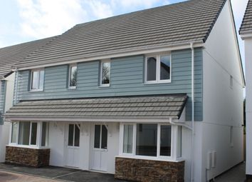 Thumbnail 3 bed semi-detached house to rent in Relistian Lane, Gwinear, Hayle