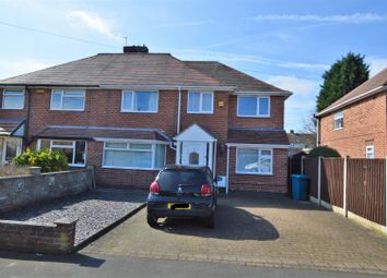 Thumbnail 4 bed semi-detached house for sale in Wodehouse Avenue, Gotham, Nottingham