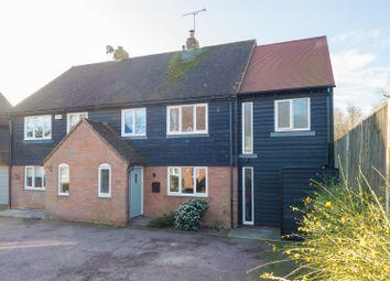 Thumbnail 4 bed semi-detached house for sale in Riverside Close, Bridge, Nr Canterbury