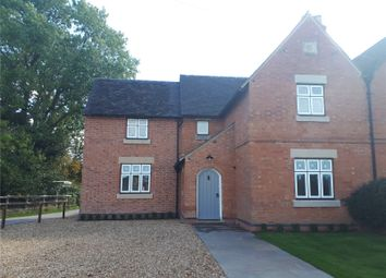Thumbnail 3 bed semi-detached house to rent in Hall Estate, Hoar Cross, Burton On Trent