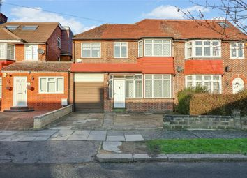 Thumbnail 4 bed semi-detached house to rent in Bullescroft Road, Edgware