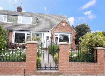 Thumbnail 4 bed semi-detached bungalow for sale in Baslow Gardens, Off Crosslea Avenue, Sunderland