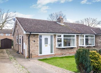 Thumbnail 2 bedroom bungalow to rent in Hornsey Garth, Wigginton, York
