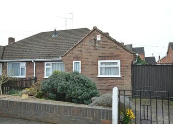 Thumbnail 2 bed semi-detached bungalow for sale in Willow Road, Blaby, Leicester