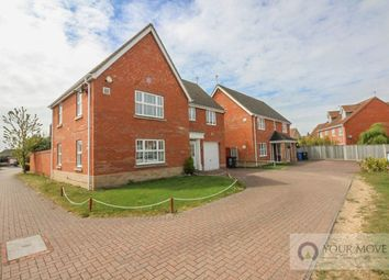 Thumbnail 4 bed detached house for sale in Townsend Way, Lowestoft