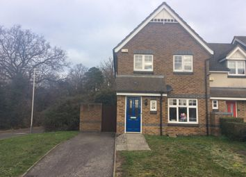 Thumbnail 3 bed end terrace house to rent in Old School Road, Uxbridge, Middlesex