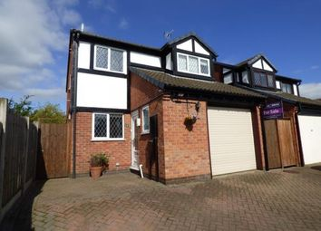 Thumbnail 3 bed detached house for sale in The Belfry, Stretton, Burton-On-Trent, Staffordshire