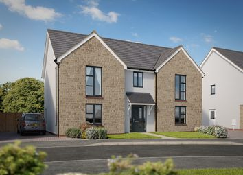 "Thumbnail 4 bed detached house for sale in ""The Bond"" at Pomphlett Farm Industrial, Broxton Drive, Plymouth"